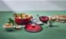 Soupe crémeuse au poulet et aux légumes frais de la ferme