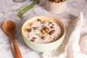 Soupe de chou-fleur & Pois chiche grillés