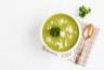 Soupe diététique au chou-fleur et haricots verts