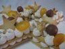 Star cake épices de noël