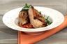 Suprême de poulet mariné et grillé salade