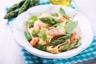 Tagliatelles au saumon et asperges vertes
