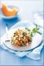 Tartare de Melon Charentais Jaune Feta Concombre et Menthe