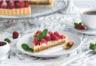 Tarte aux framboises pistaches et chocolat blanc