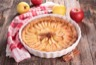 Tarte aux pommes à la confiture d'abricots