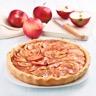 Tarte aux pommes et confiture d'abricots facile