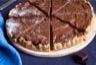 Tarte chocolat au lait et caramel au beurre salé