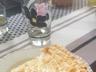 Tarte meringuée à la rhubarbe et aux pommes