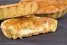 Tarte sablée crème Chiboust mangues caramélisées