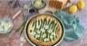 Tarte salée aux asperges vertes et Grana Padano AOP