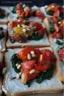 Tartines chèvre epinard tomate confite