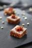 Toasts au foie gras sur pain d'épices