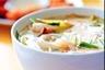 Tom Yam Kung (soupe aigre-douce aux crevettes à la citronnelle)