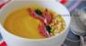 Velouté de carotte courgette et butternut