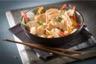 Wok de poulet et légumes au satay